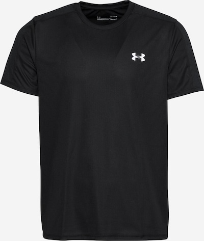 UNDER ARMOUR Camiseta funcional 'Speed Stride' en negro / blanco, Vista del producto