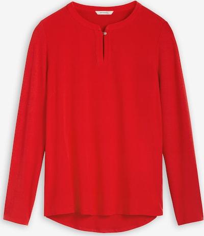 Sandwich Shirt in rot, Produktansicht