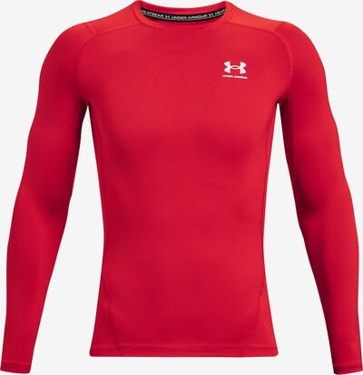 UNDER ARMOUR Basislaag in de kleur Rood / Wit, Productweergave