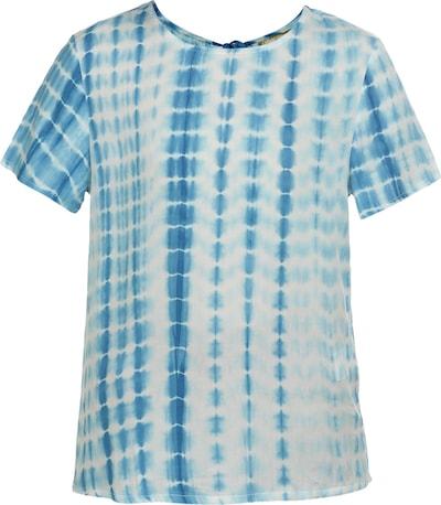 MYMO Luftiges Shirt in blau / weiß, Produktansicht
