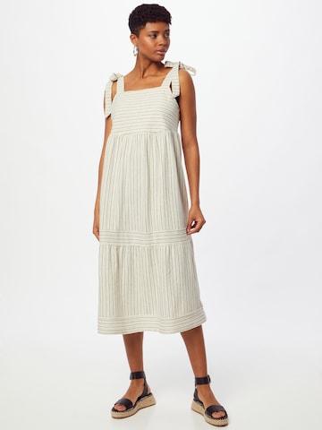 ESPRIT Kleid in Weiß