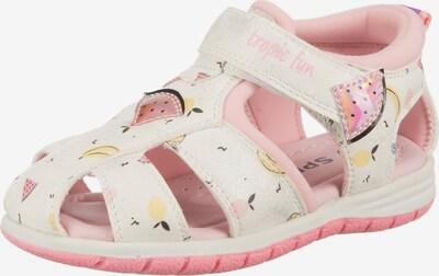 Sprox Sandale in gelb / rosa / schwarz / weiß, Produktansicht