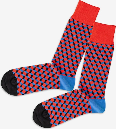 DillySocks Socken in hellblau / schwarz, Produktansicht