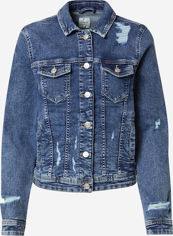 ONLY Between-Season Jacket 'TIA' in Blue
