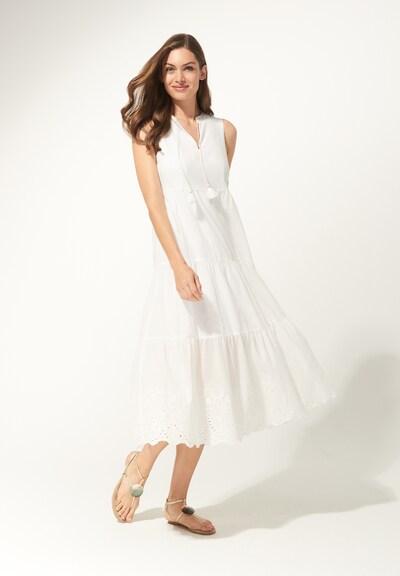 DANIEL HECHTER Kleid in weiß, Modelansicht