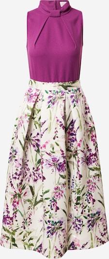 Closet London Koktel haljina u zelena / orhideja bijela / bijela, Pregled proizvoda