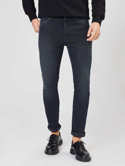 Tommy Jeans Jeans 'SIMON' in black denim, Modelansicht