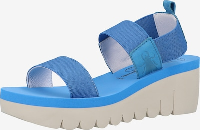FLY LONDON Sandalen in blau, Produktansicht