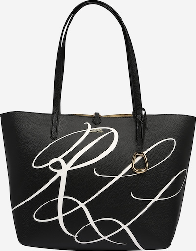 """Lauren Ralph Lauren """"Чанта тип """"""""Shopper"""""""""""" в злато / черно / бяло, Преглед на продукта"""