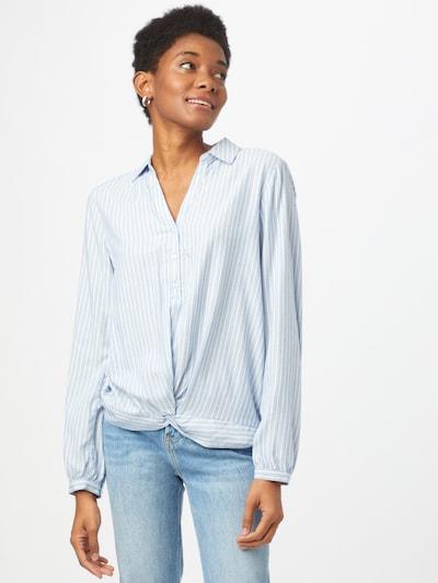 STREET ONE Bluse in opal / weiß, Modelansicht