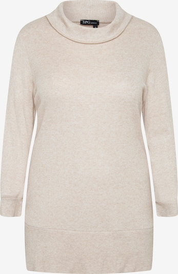 SPGWOMAN Longpullover in beige, Produktansicht