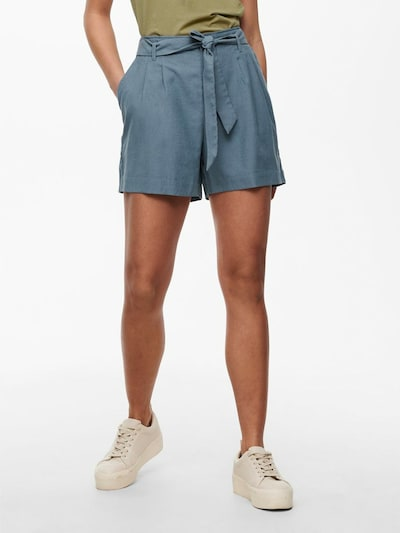 ONLY Shorts in violettblau, Modelansicht