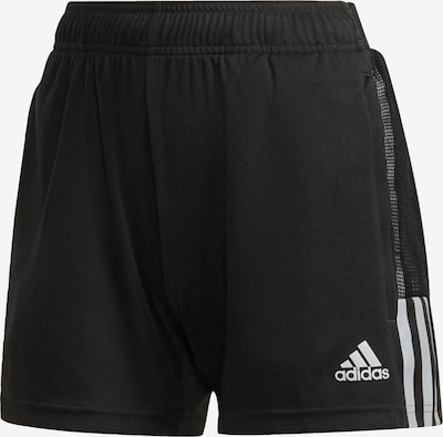 ADIDAS PERFORMANCE Workout Pants in Grey / Black, Item view