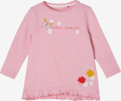 s.Oliver Shirt in gelb / rosa / rot / weiß, Produktansicht
