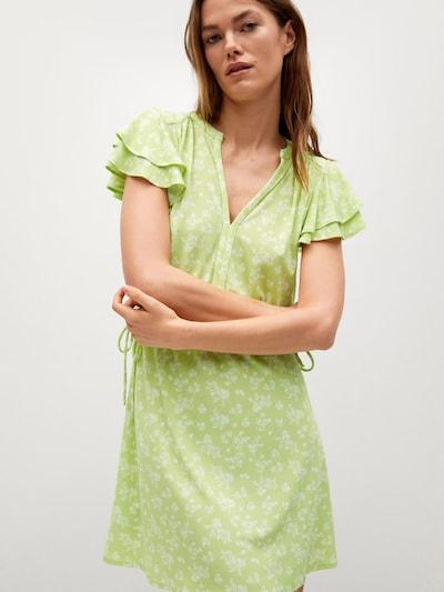 Rochie de vară 'GALA8' MANGO pe verde deschis / alb, Vizualizare model