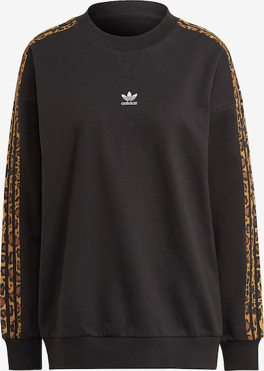 ADIDAS ORIGINALS Sweatshirt i brun / svart, Produktvy