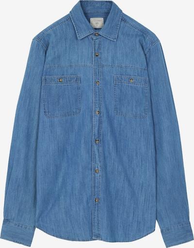 Scalpers Hemd 'Harbour' in blue denim, Produktansicht