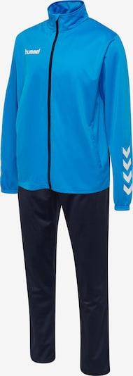 Hummel Trainingspak in de kleur Blauw / Wit, Productweergave