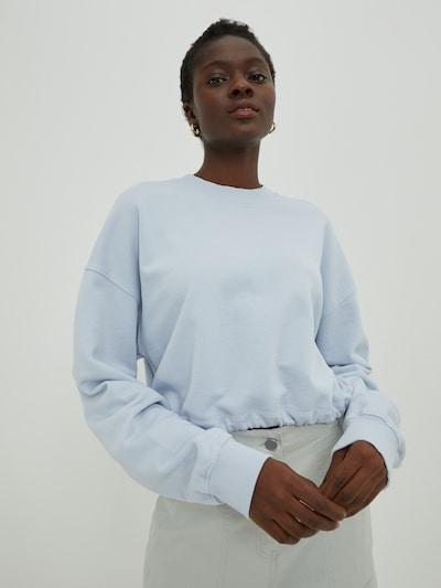 EDITED Блузон с качулка 'Pearl' в синьо, Преглед на модела