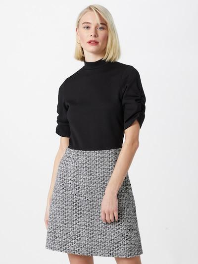 Dorothy Perkins Kleid in grau / schwarz / weiß, Modelansicht