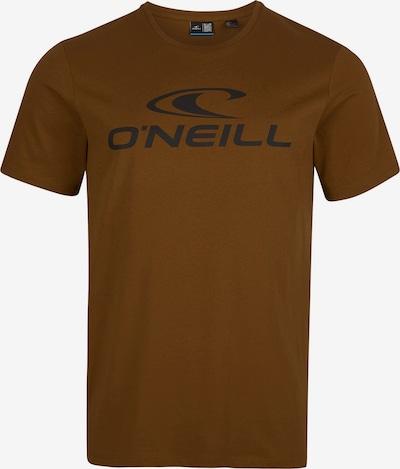 Tricou O'NEILL pe maro ruginiu / negru, Vizualizare produs