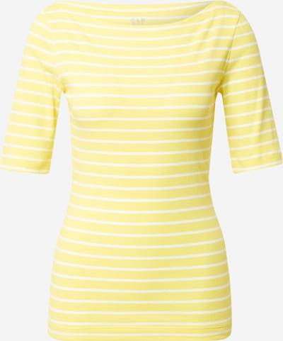 GAP Shirt in gelb / weiß, Produktansicht