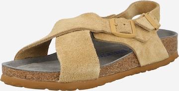 Sandale 'Tulum' de la BIRKENSTOCK pe bej