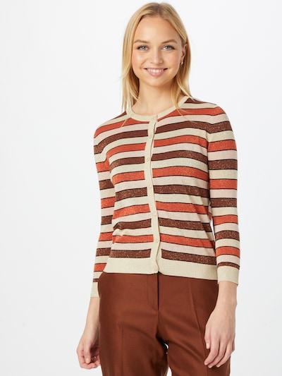 OVS Cardigan in beige / braun / rot, Modelansicht