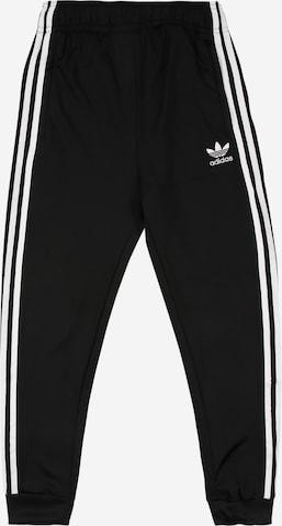 Pantalon 'Adicolor' ADIDAS ORIGINALS en noir