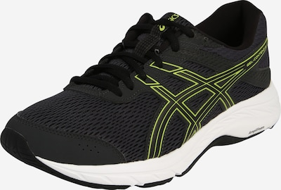 ASICS Laufschuh 'GEL-CONTEND 6' in hellgrün / schwarz, Produktansicht