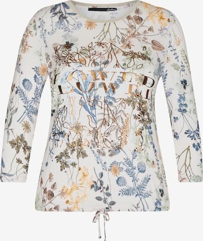 Lecomte Shirt in beige / hellblau / naturweiß, Produktansicht