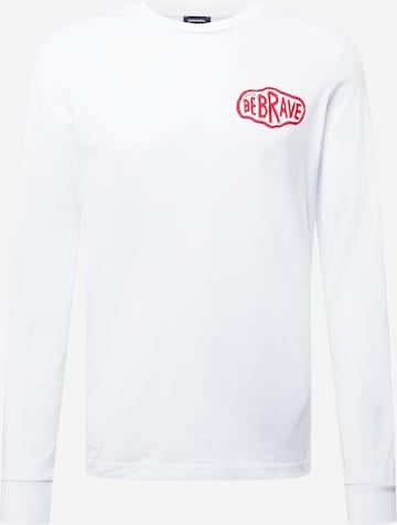 Maglietta 'T-DIEGOS-LS-K24' di DIESEL in bianco
