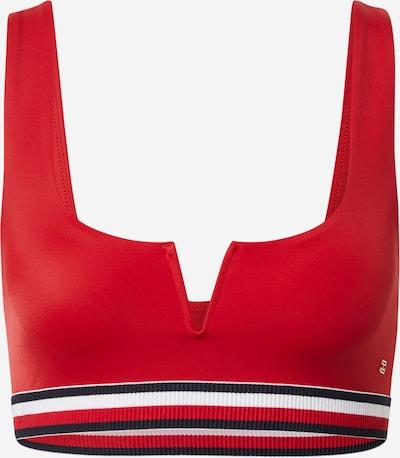 Tommy Hilfiger Underwear Rinnahoidja öösinine / punane / valge, Tootevaade
