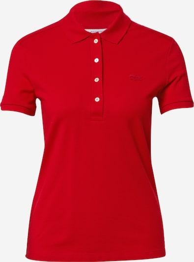 LACOSTE Poloshirt in feuerrot, Produktansicht