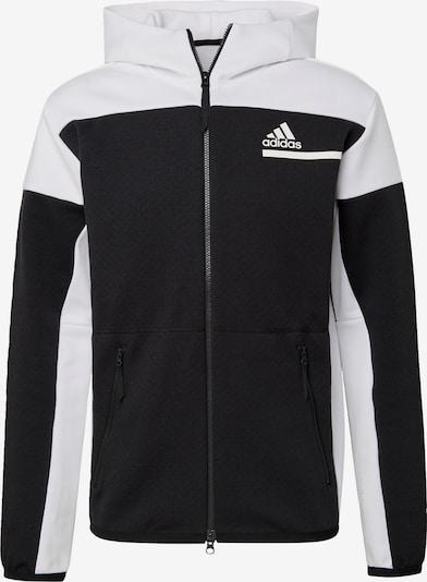 ADIDAS PERFORMANCE Sportjacke 'Z.N.E.' in schwarz, Produktansicht