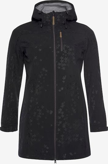 POLARINO Mantel in schwarz, Produktansicht