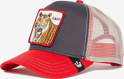 GOORIN Bros. Cap 'EASY TIGER' in navy / hellgrau / orange / rot / weiß, Produktansicht