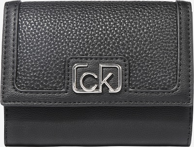 fekete Calvin Klein Pénztárcák 'TRIFOLD', Termék nézet