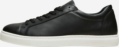 SELECTED HOMME Platform trainers in Black, Item view