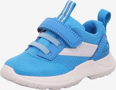 SUPERFIT Sneaker 'RUSH' in blau / weiß, Produktansicht