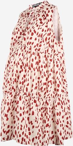 Missguided Maternity Sukienka w kolorze beżowy