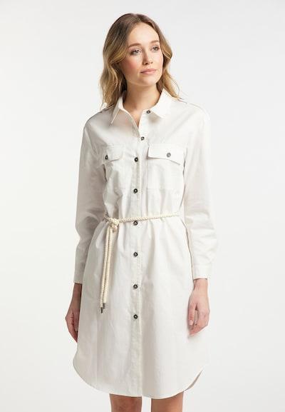 DreiMaster Vintage Kleid in weiß, Modelansicht