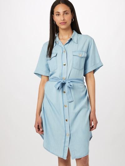 Palaidinės tipo suknelė 'CHIPO' iš PINKO, spalva – šviesiai mėlyna, Modelio vaizdas