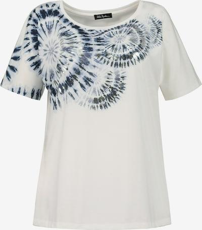 Ulla Popken Shirt in navy / offwhite, Produktansicht