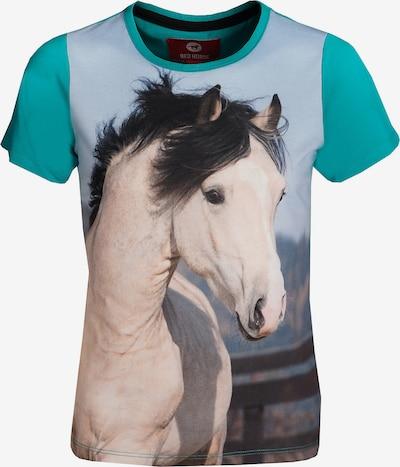 RED HORSE T-Shirt für Mädchen in türkis, Produktansicht