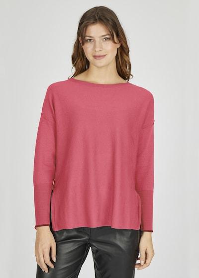 eve in paradise Feinstrickpullover in pink, Modelansicht