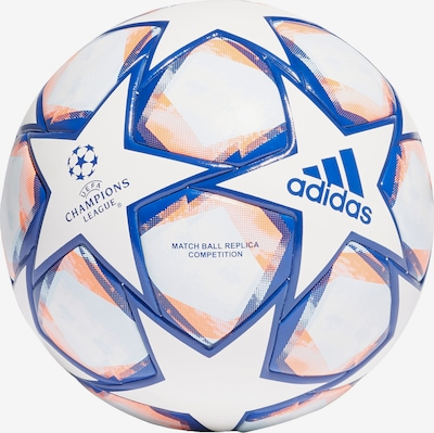 ADIDAS PERFORMANCE Ball 'UCL Finale 20' in blau / orange / weiß, Produktansicht