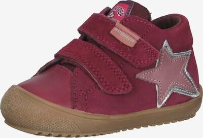NATURINO Sneaker in pink / bordeaux / silber, Produktansicht