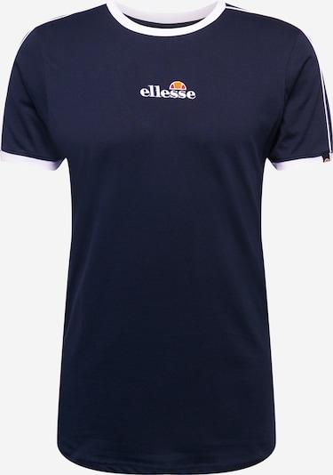ELLESSE T-Shirt 'Riesco' in navy / orange / rot / weiß, Produktansicht