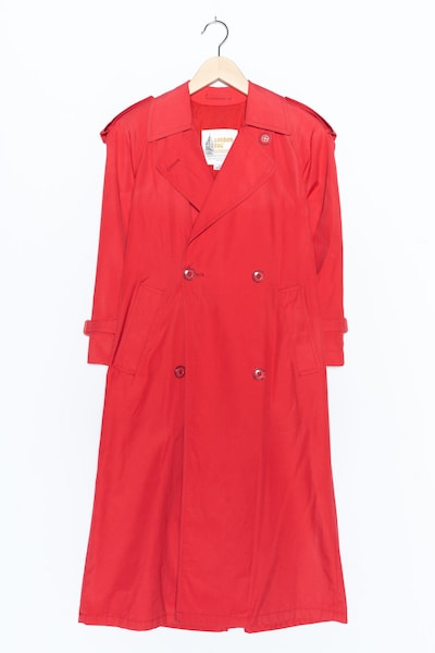 London Fog Trenchcoat in S in rot, Produktansicht